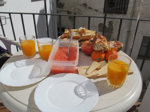 spain, breakfast, spanish, pan con tomate