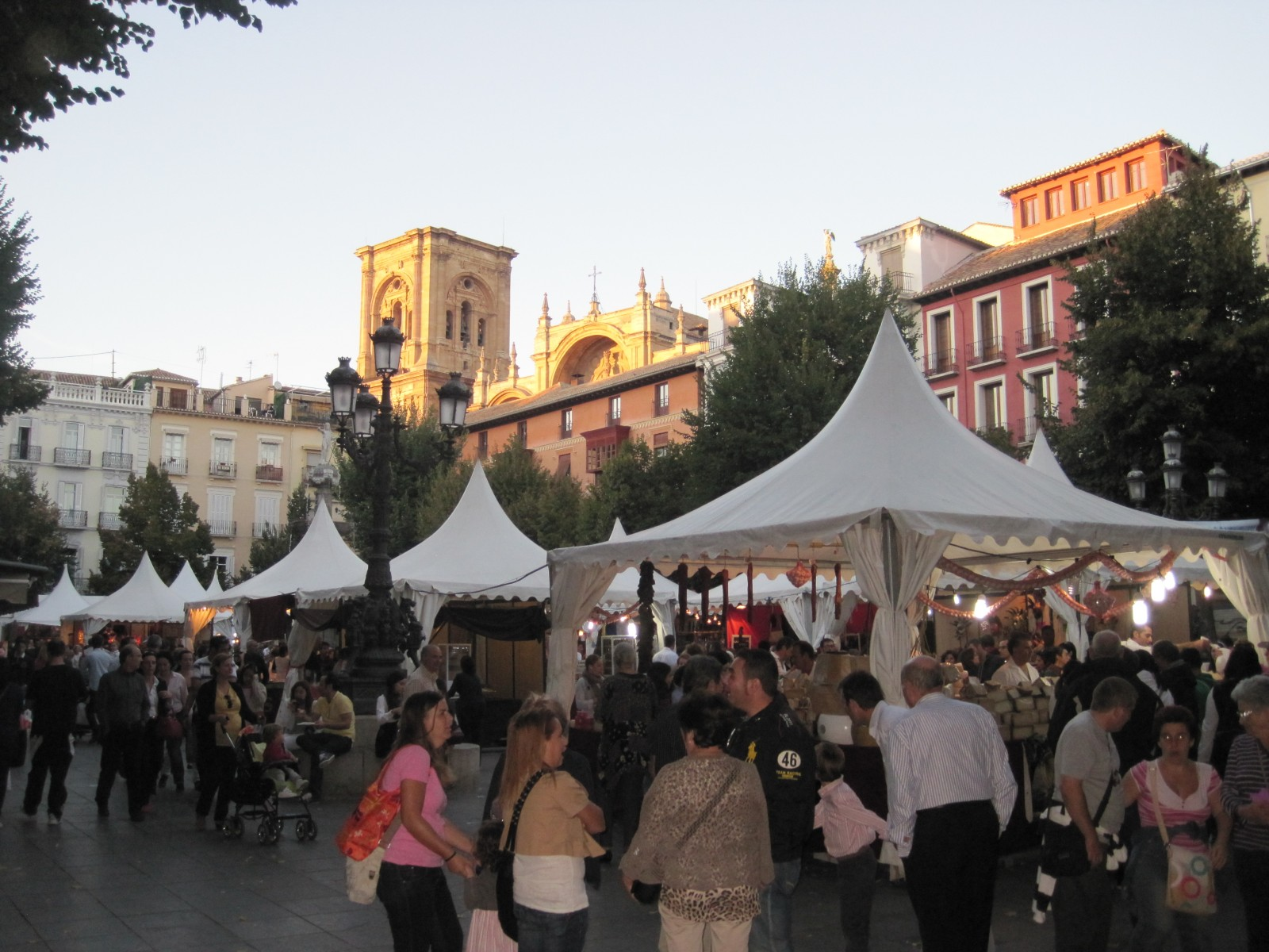 Sunday Market in Granada City Centre