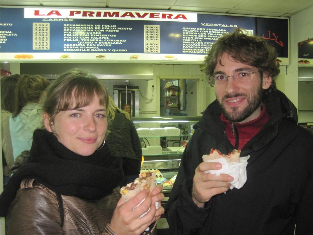 Shawarma in Granada