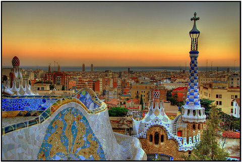 Gaudi, Barcelona, tefl, teach, spain
