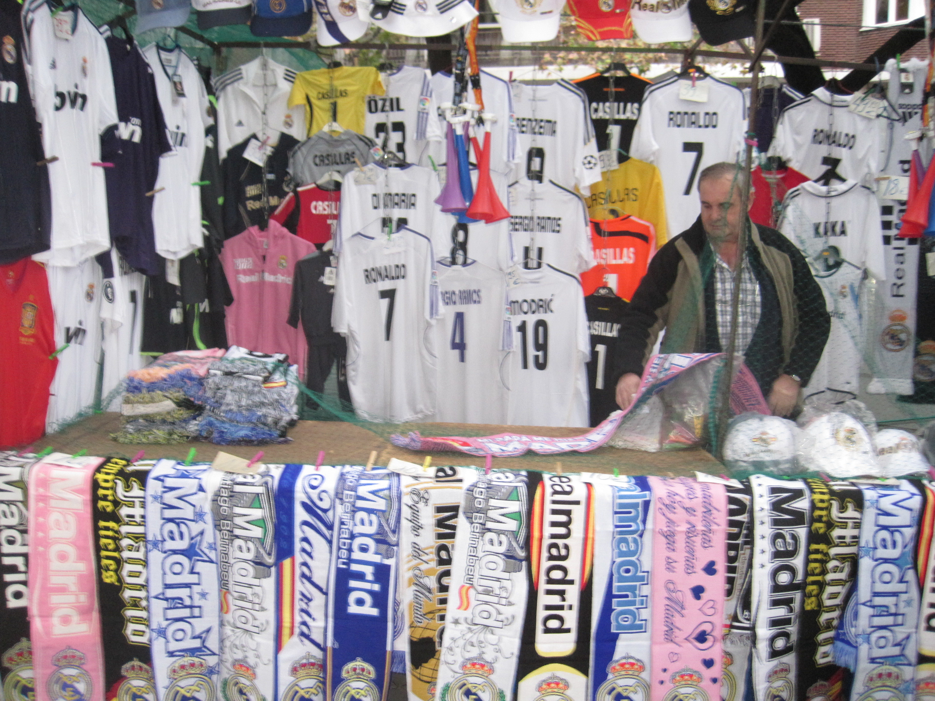 Real Madrid, merchandise, shirts, stadium