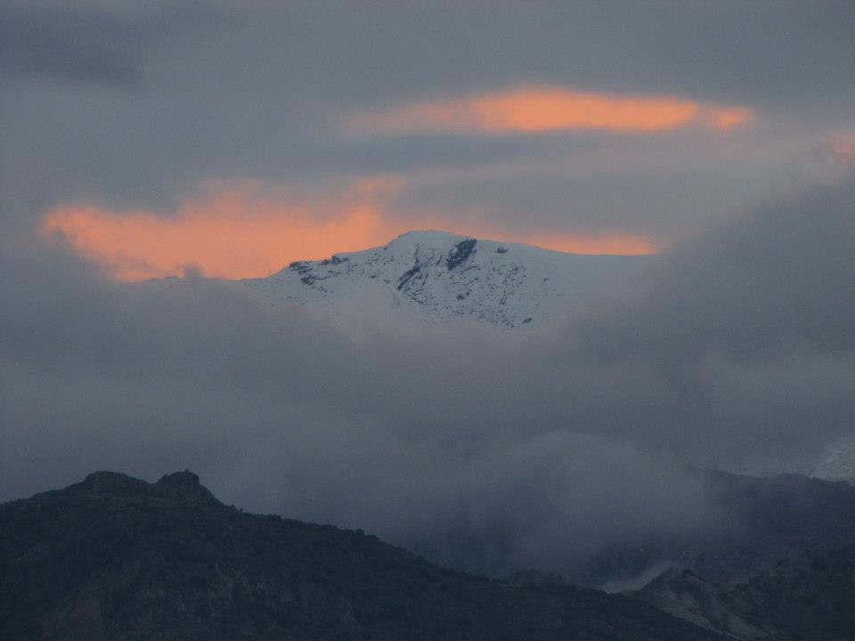 sierra nevada, granada, spain, winter