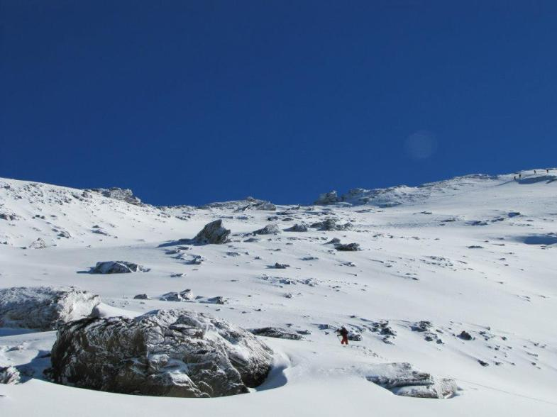 piste, sierra nevada, spain, españa