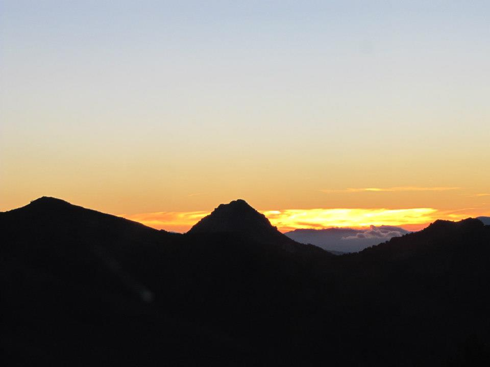 sierra nevada, spain, españa, sunset