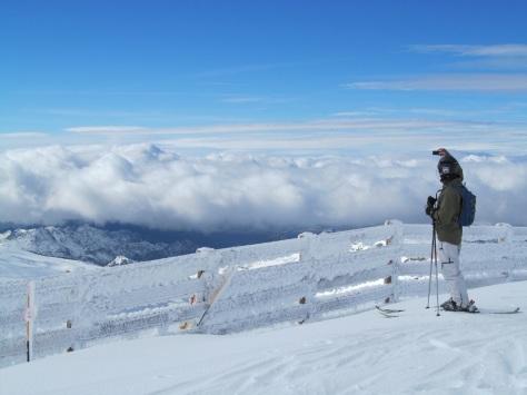 sierra nevada, spain, snow, powder