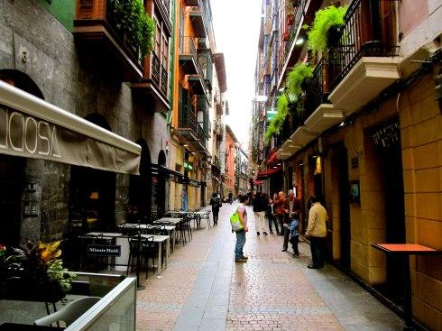 Bilbao, Spain, spring, pintxos
