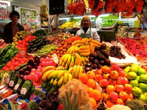Fruta, Mercado de Ribera