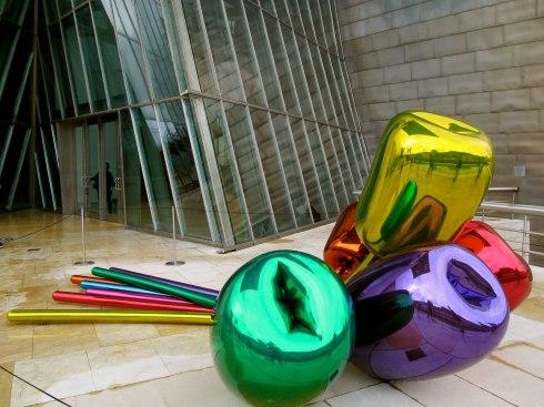 Metalic flowers, The Guggenheim