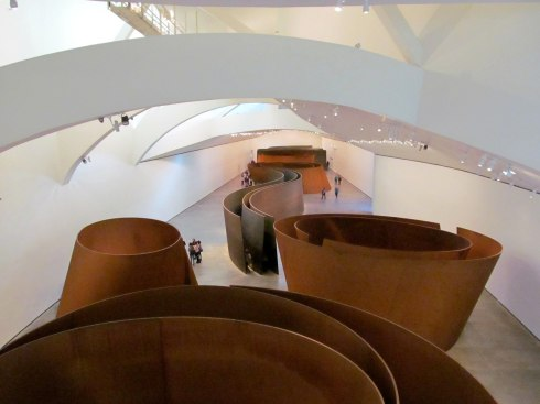 'The Matter Of Time' room, The Guggenheim (didn't realise that I wasn't allowed to take this one but still got away with it...)