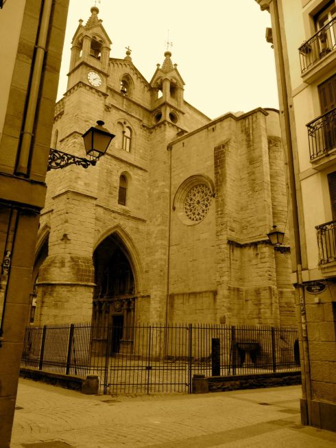 san sebastian, basque country, spain, catedral
