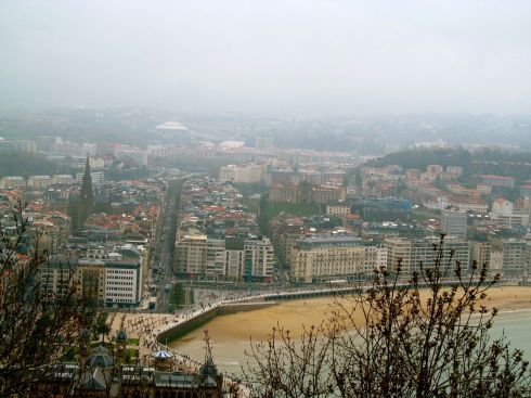 san sebastian, basque country, spain, monte urgull