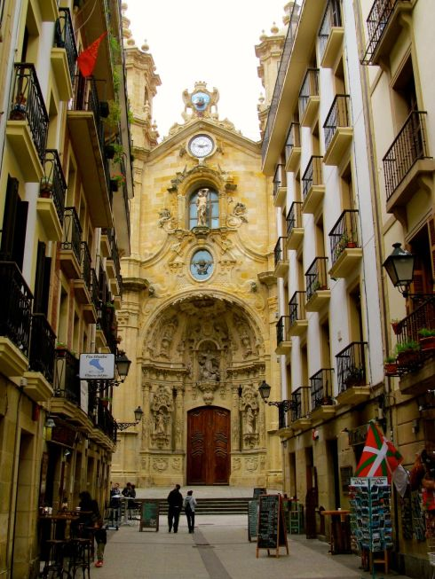 san sebastian, basque country, spain, santa maria