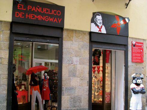 Hemingway, Pamplona, Spain