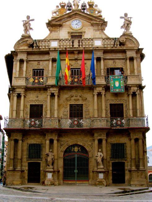Ayuntamiento, council, Pamplona, Spain