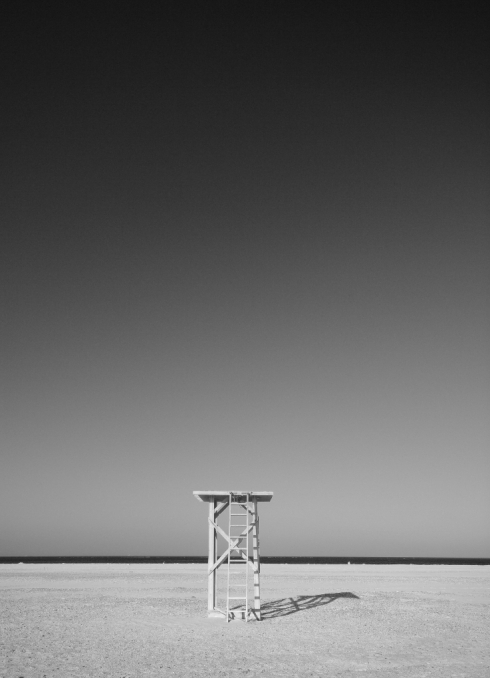 robin graham, tarifa, beach, guard tower