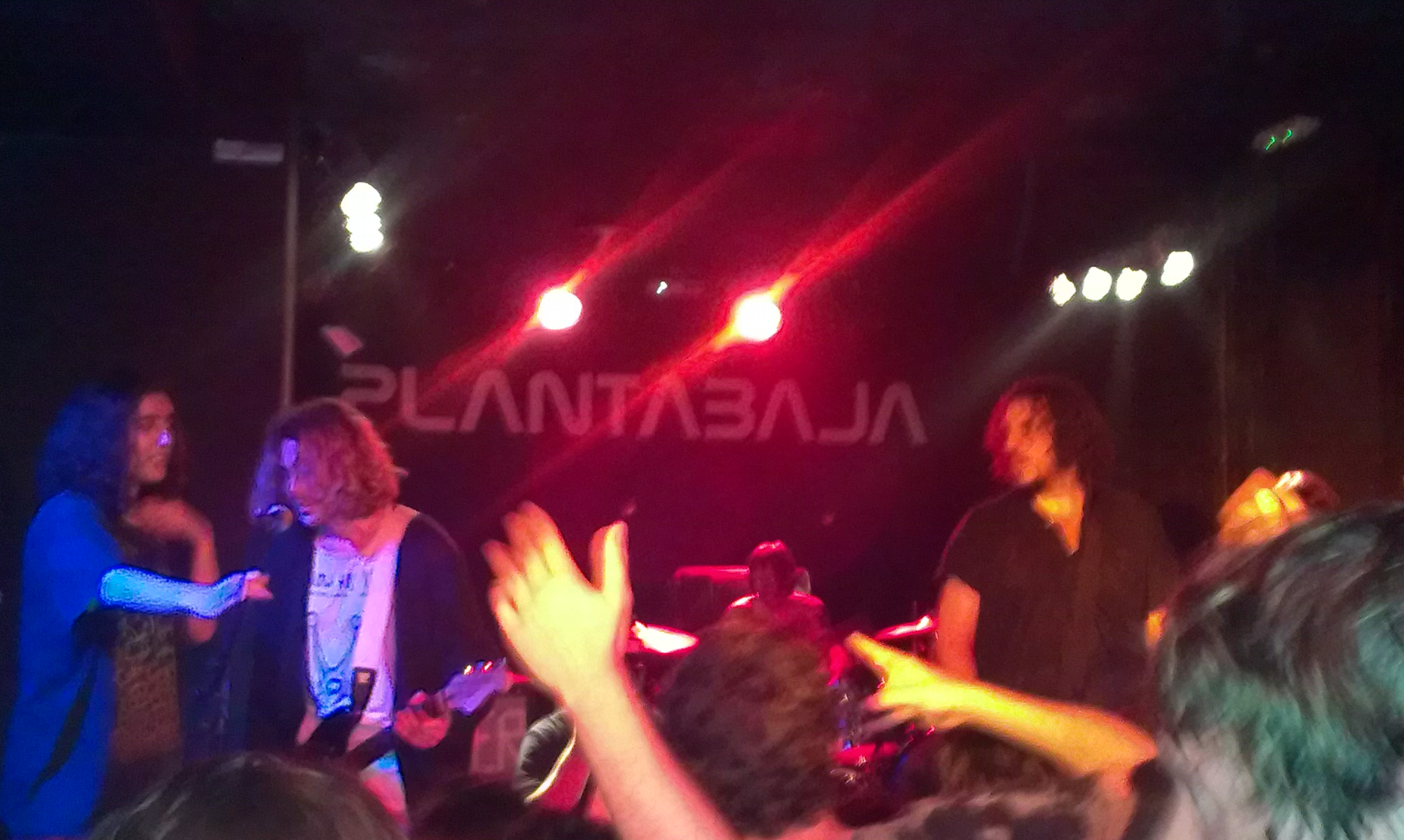 Nirvana cover band. It was a blurry night...