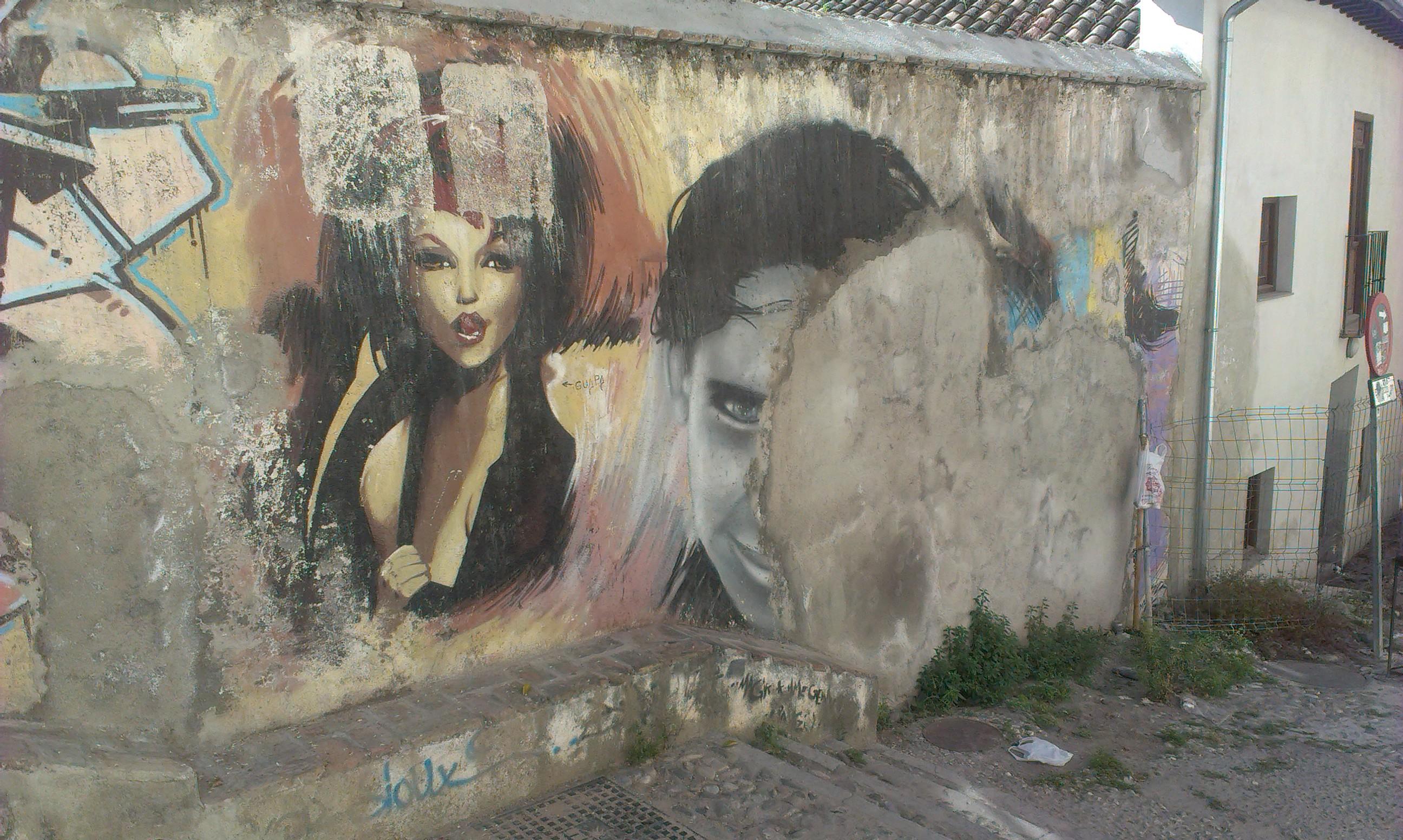el niño de las pinturas, el niño, granada, art, graffiti, josh taylor
