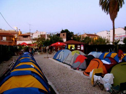 sos 4.8, murcia, festival, josh taylor, camping