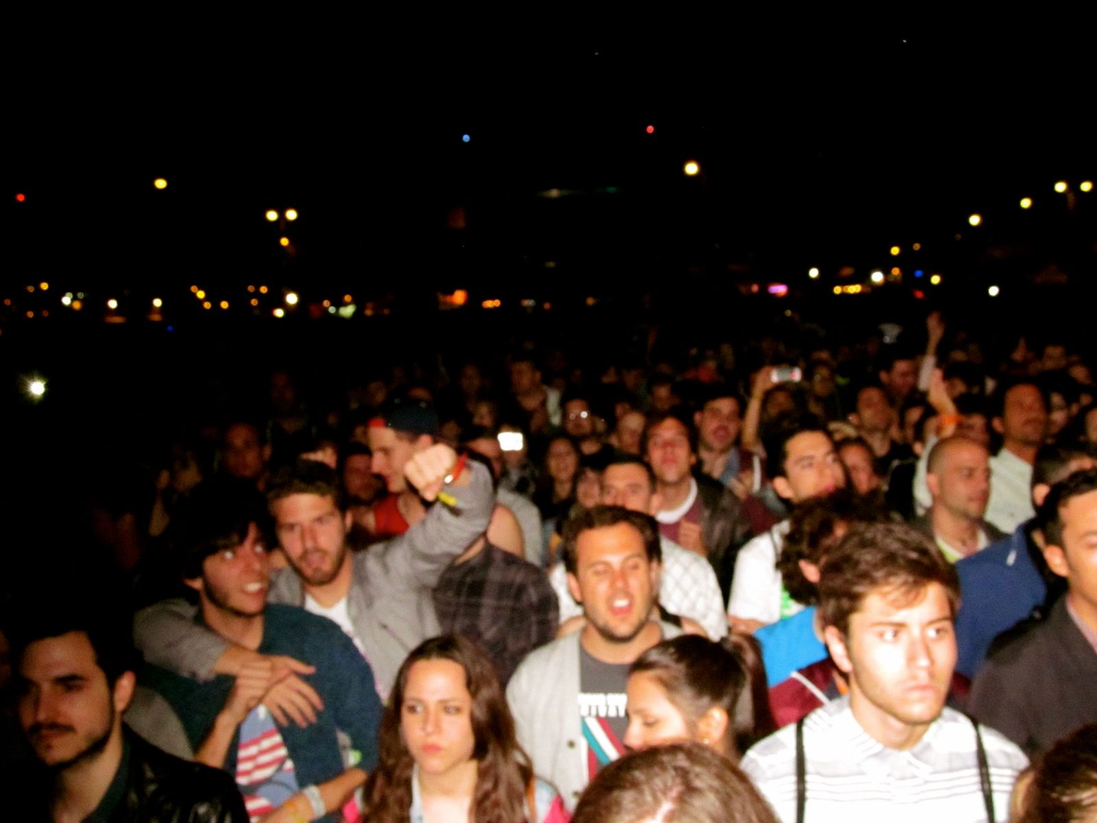 sos 4.8, murcia, festival, m83, crowd, josh taylor