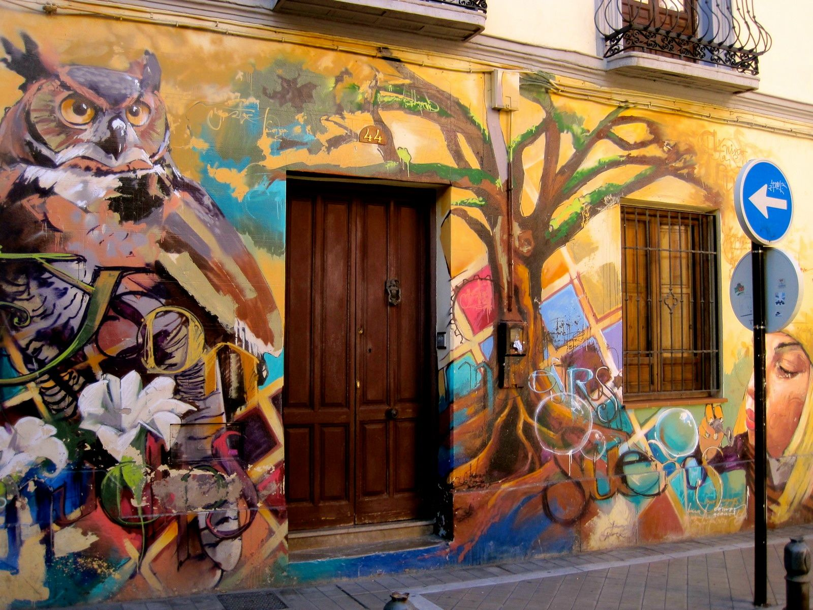 One of El Niño's best pieces in El Realejo, Granada