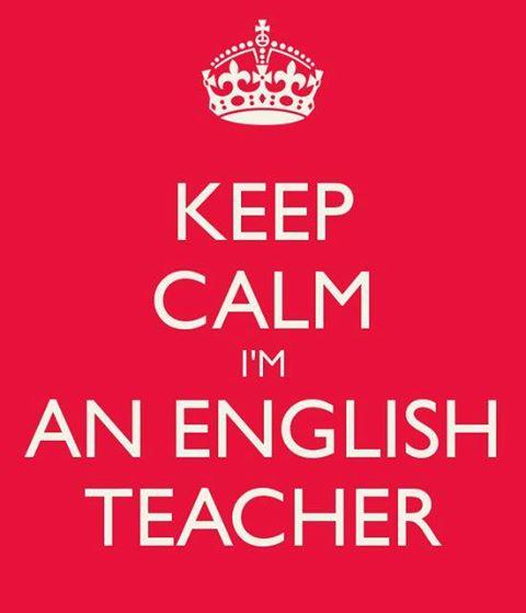 keep calm english teacher spain expat